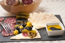 organic salame and pickles with pita bread 34.jpg