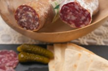 organic salame and pickles with pita bread 38.jpg