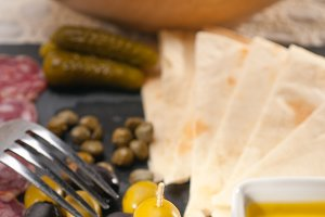 organic salame and pickles with pita bread 39.jpg