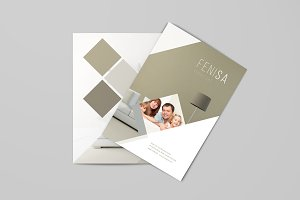 Furniture A4 Brochure Template