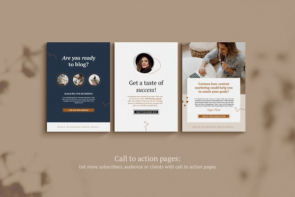eBook / CANVA, INDD / Kayla in Magazine Templates - product preview 6