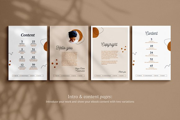 eBook / CANVA, INDD / Kayla in Magazine Templates - product preview 8