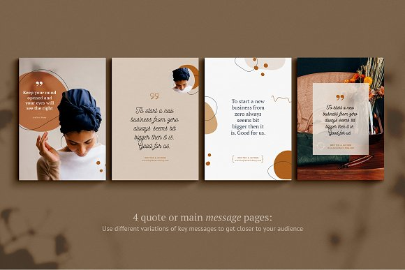 eBook / CANVA, INDD / Kayla in Magazine Templates - product preview 9