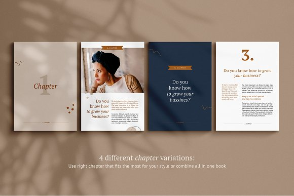 eBook / CANVA, INDD / Kayla in Magazine Templates - product preview 10