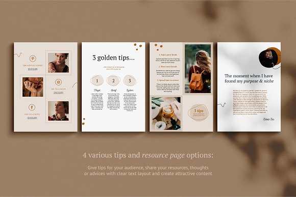 eBook / CANVA, INDD / Kayla in Magazine Templates - product preview 11