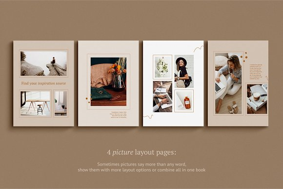 eBook / CANVA, INDD / Kayla in Magazine Templates - product preview 12