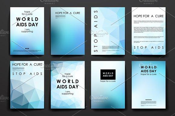 World AIDS Day. Brochure Templates - Brochures