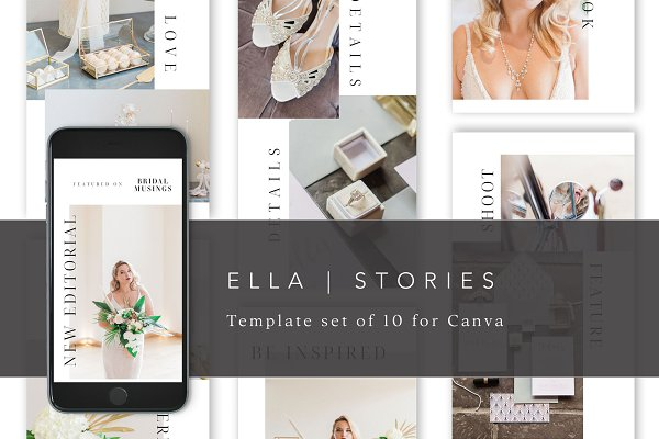 Instagram Story Templates for Canva