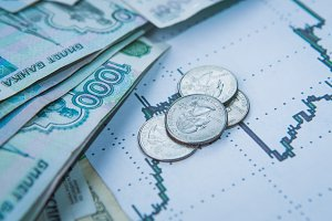 Ruble exchange rate on international