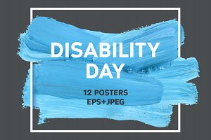 12 World Disability Day Posters