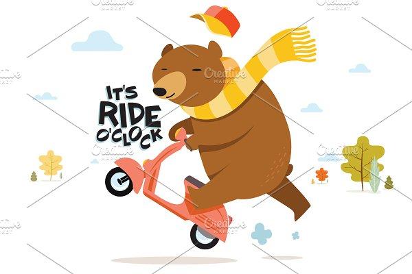 It's Ride O'Clok :)