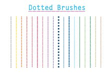 Dotted Vector Brushes