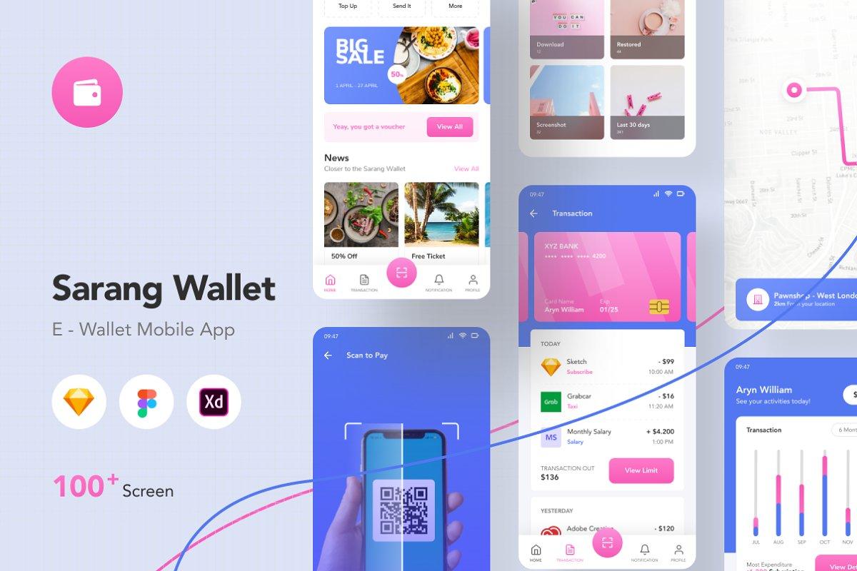 Sarang Wallet - E Wallet Mobile App