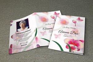Funeral Program Template-V271