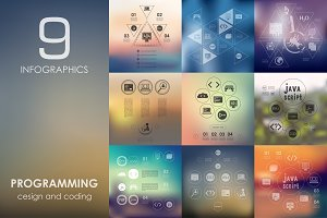 9 programming infographics
