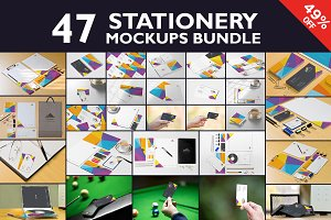 Beautiful Stationery Mockups Bundle