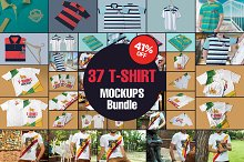 The Amazing T-Shirt Mockups Bundle