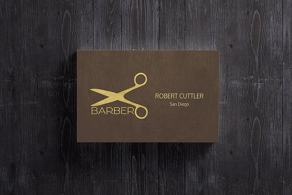 Business Cards Mockup 85X55