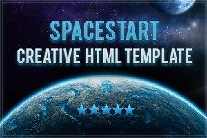 Spacestart  multipurpose template