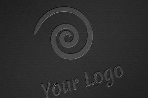Logo Mock-ups - Dark Style