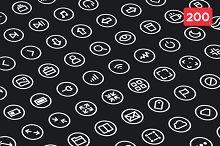 Circlies 200 (Icon Pack)