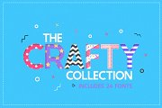 The Crafty Collection (24 Fonts)
