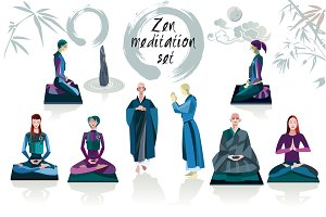 Zen Meditation Set