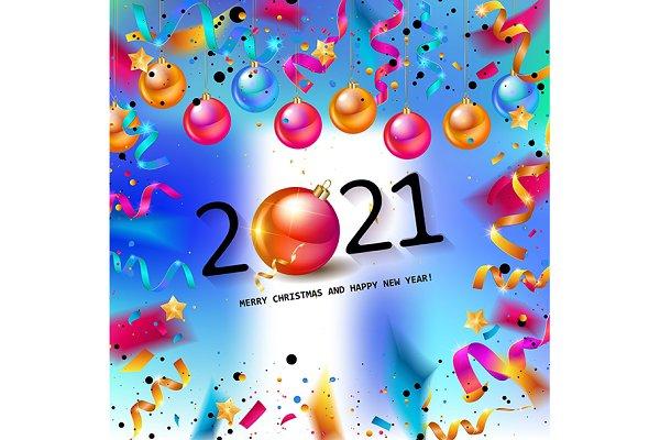 happy new year 2021 3 cards pre designed illustrator graphics creative market happy new year 2021 3 cards