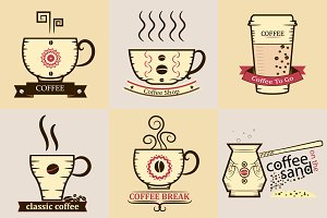 Coffee cups with Logos