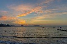 Dawn on the Black Sea.