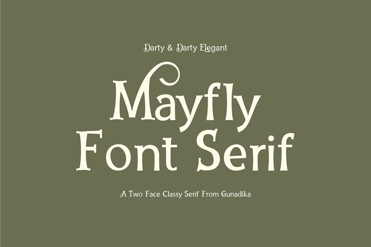 Font Serif Darty