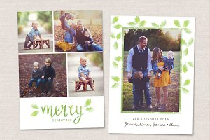 Christmas Card Template CC053