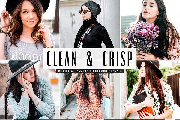 Clean & Crisp Lightroom Presets Pack