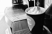 Machine Makes Coffee with Foam
