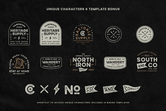 Wildborn Vintage Sans Typeface in Display Fonts - product preview 11