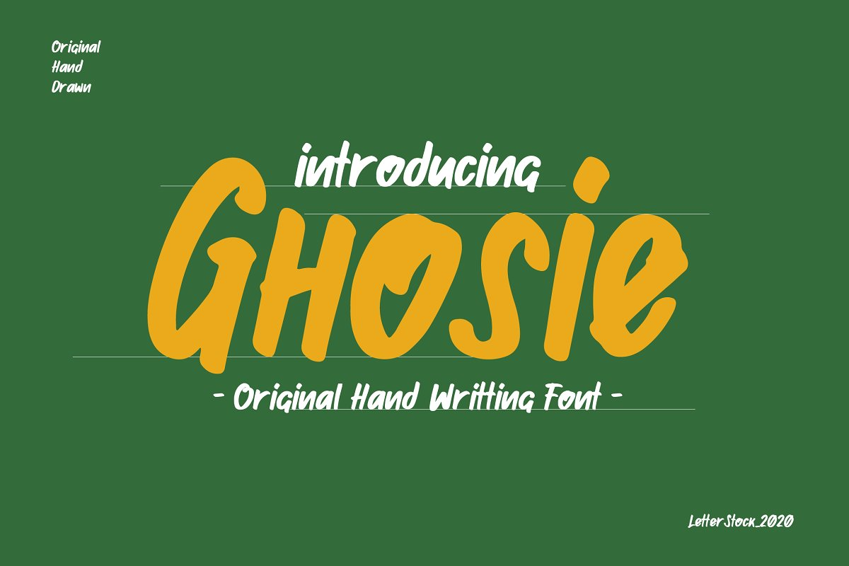 Ghosie in Display Fonts - product preview 8