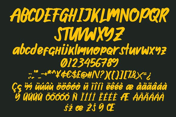 Ghosie in Display Fonts - product preview 4