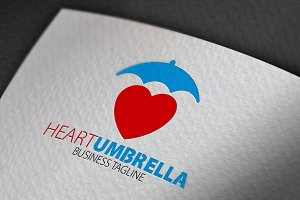 Heart Umbrella Logo