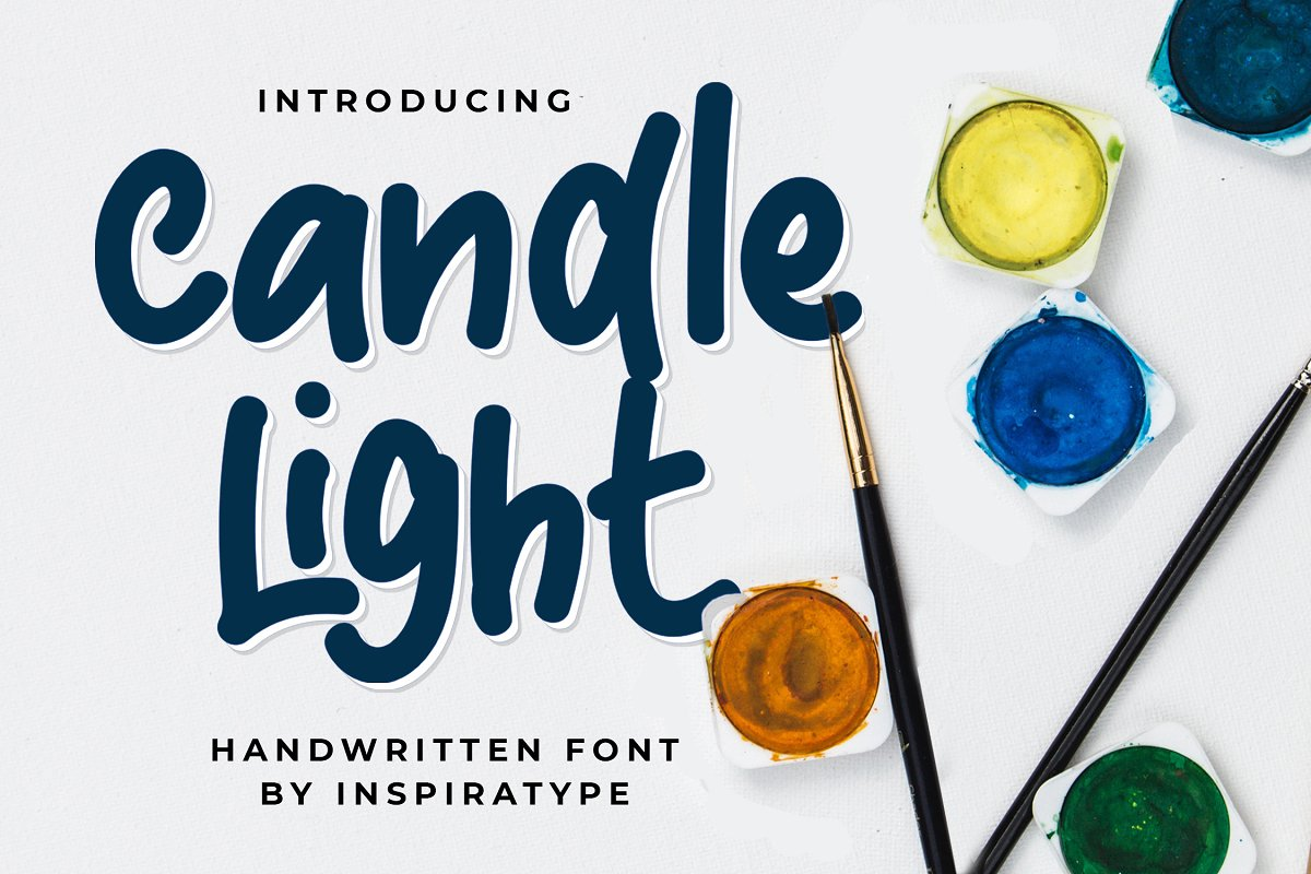 Candle Light - Handwritten Font in Display Fonts - product preview 8