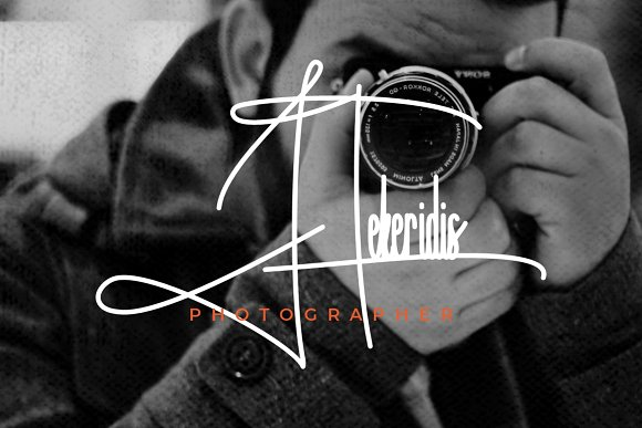 Handitype - Signature Style Font in Display Fonts - product preview 2