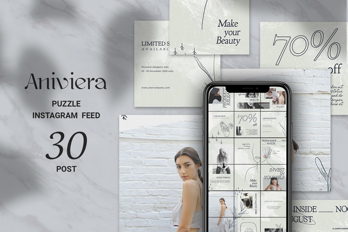 Aniviera Puzzle Instagram Feed