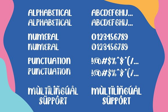 Brightly Crush - Playful Typeface in Display Fonts - product preview 13