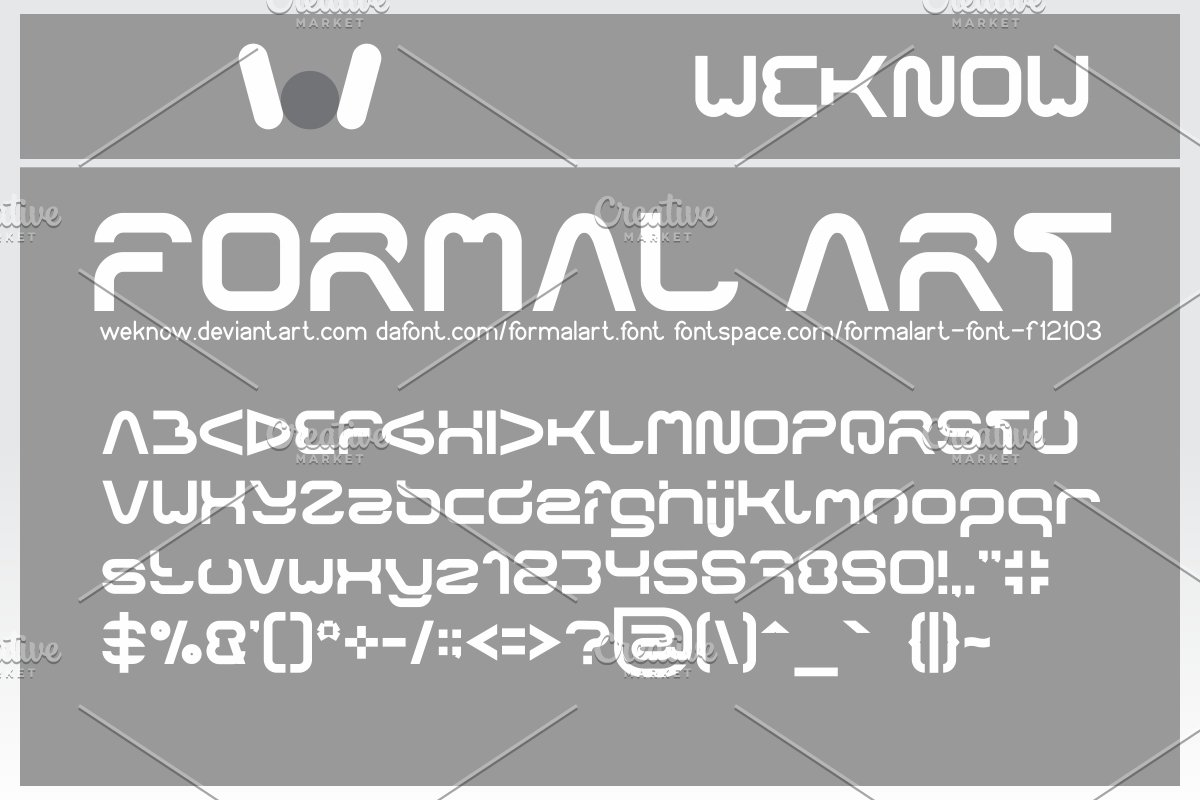 formal art font in Display Fonts - product preview 8