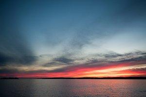 John's Bay at Sunset