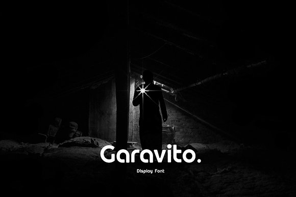 Garavito Display & WebFont in Display Fonts - product preview 9