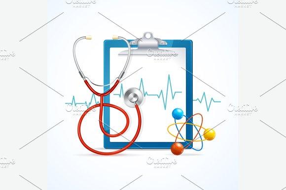 Health Medical Concept. Vector - Illustrations
