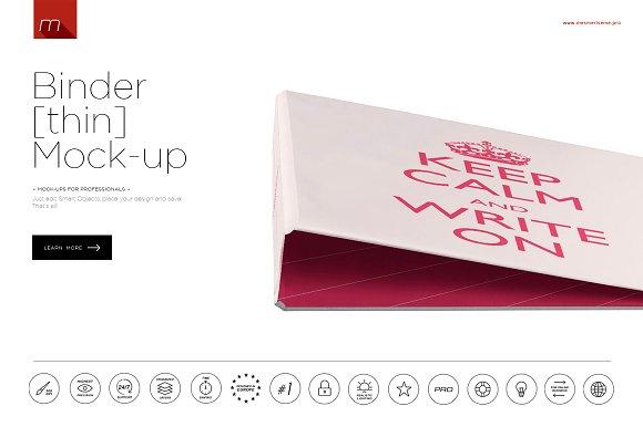 Download Binder (thin) Mock-up