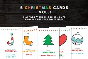 Christmas Greeting Cards 2016 vol.1