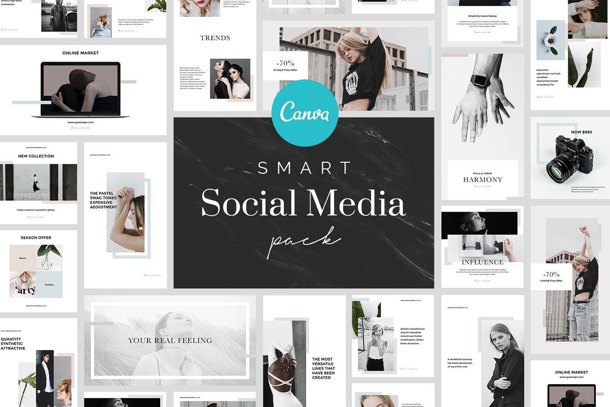 Smart Canva Social Media Pack