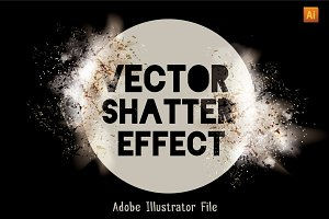 Vector Shatter Effect Set